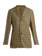 Matchesfashion.com Holiday Boileau - Checked Wool Blazer - Womens - Brown Multi