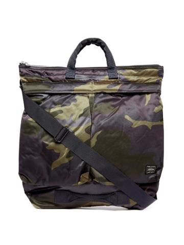 Matchesfashion.com Porter-yoshida & Co. - Counter Shade Camouflage-print Tote Bag - Womens - Khaki Multi