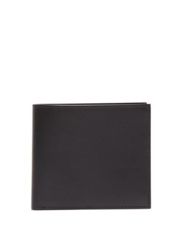 Matchesfashion.com The Row - Leather Bi Fold Wallet - Mens - Black