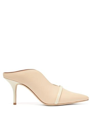 Matchesfashion.com Malone Souliers - Constance Leather Mules - Womens - Cream