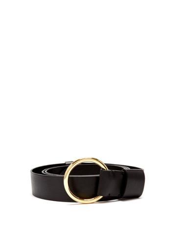 Diane Von Furstenberg Ring-buckle Leather Belt