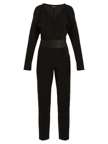 Rachel Comey Hope V-neck Crepe Jumpsuit