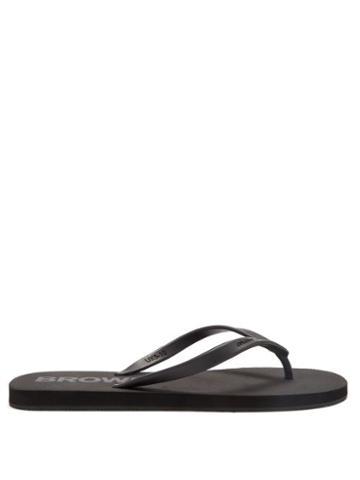 Orlebar Brown - Haston Rubber Flip Flops - Mens - Black