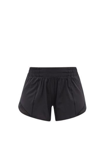 Lululemon - Hotty Hot 4 Recycled Fibre-blend Running Shorts - Womens - Black