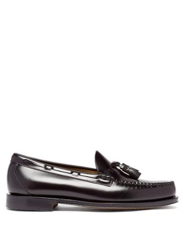 Matchesfashion.com G.h. Bass & Co. - Weejuns Larkin Tasselled Leather Loafers - Mens - Black