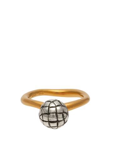 Bottega Veneta Dichotomy Intrecciato Ring