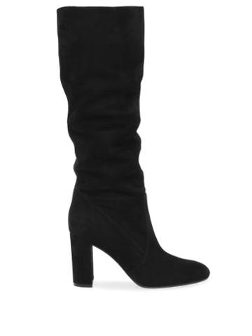 Matchesfashion.com Gianvito Rossi - Glen 85 Suede Knee-high Boots - Womens - Black