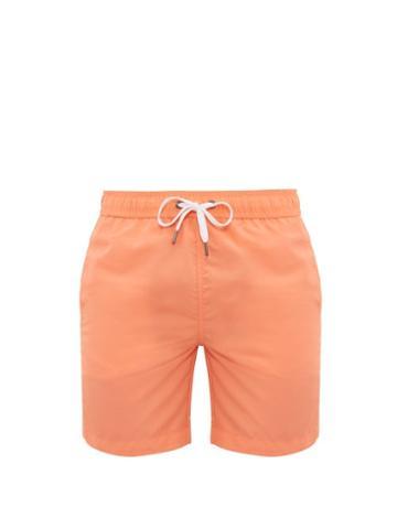 Matchesfashion.com Onia - Calder Swim Shorts - Mens - Salmon