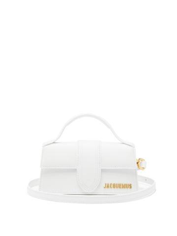 Matchesfashion.com Jacquemus - Le Bambino Leather Bag - Womens - White