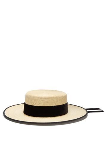 Matchesfashion.com Eliurpi - Cordobes Straw Hat - Womens - Beige