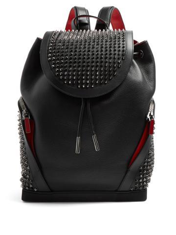 Christian Louboutin Explorafunk Spike-embellished Leather Backpack