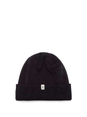 Matchesfashion.com On - Merino-wool Beanie Hat - Mens - Navy