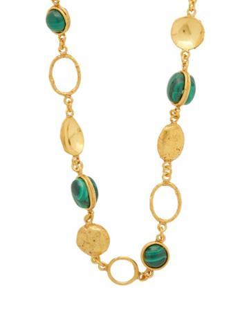 Matchesfashion.com Sylvia Toledano - Long Malachite Necklace - Womens - Green