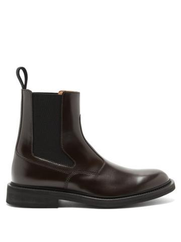Matchesfashion.com Bottega Veneta - Leather Chelsea Boots - Mens - Brown