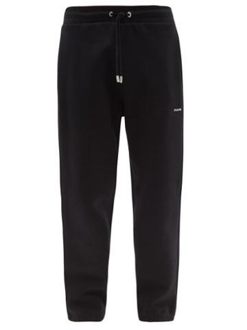Matchesfashion.com Frame - Cotton-blend Jersey Track Pants - Mens - Black