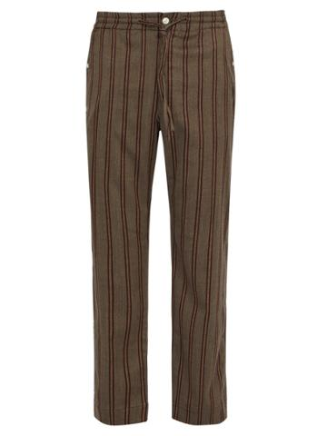 Needles Striped Twill Trousers