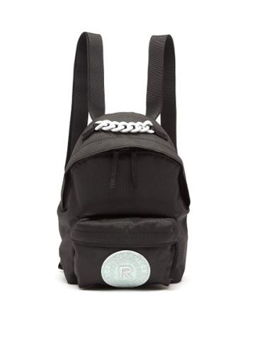 Matchesfashion.com Raf Simons X Eastpak - Pak'r Mini Logo-patch Canvas Backpack - Mens - Multi
