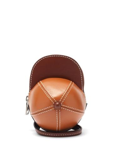 Matchesfashion.com Jw Anderson - Nano Cap Leather Cross-body Bag - Mens - Tan