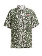 Matchesfashion.com Maharishi - Leopard Print Silk Shirt - Womens - Leopard