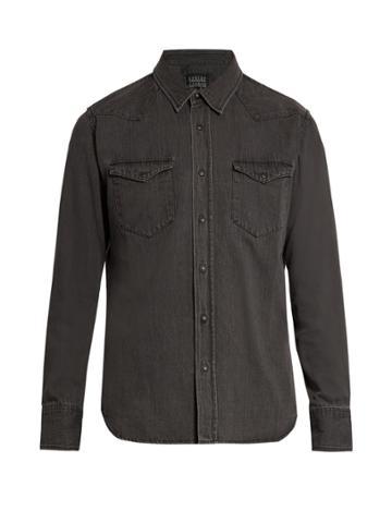 Kuro Zoro Western Denim Shirt