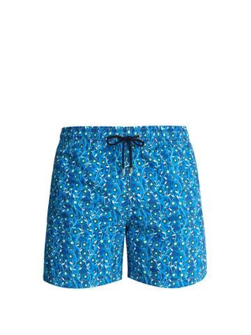 Le Sirenuse, Positano Arts And Crafts-print Swim Shorts