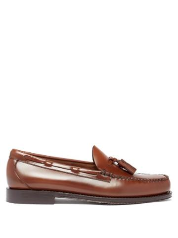 Matchesfashion.com G.h. Bass & Co. - Weejuns Larkin Tasselled Leather Loafers - Mens - Brown