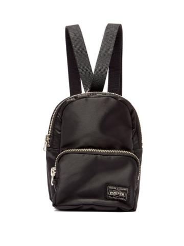 Matchesfashion.com Porter-yoshida & Co. - Howl Mini Nylon-twill Backpack - Womens - Black