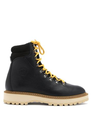 Matchesfashion.com Diemme - Monfumo Grained-leather Boots - Womens - Black