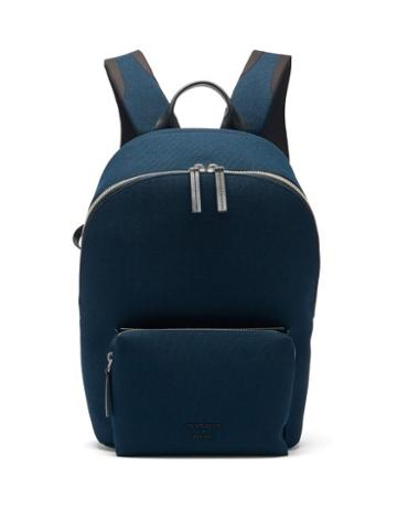 Matchesfashion.com Troubadour X Sunspel - Slipstream Canvas Backpack - Mens - Navy