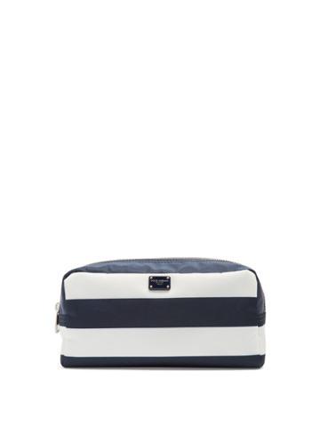 Dolce & Gabbana Striped Make-up Bag