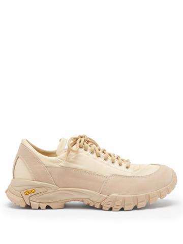 Matchesfashion.com Diemme - Possagno Shell And Suede Trainers - Womens - Beige
