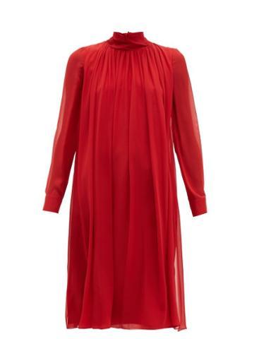 Matchesfashion.com Max Mara - Rugiada Dress - Womens - Red