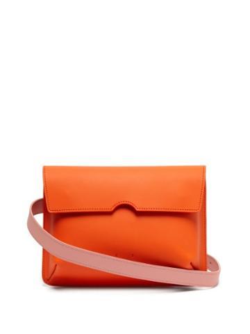 Matchesfashion.com Pb 0110 - Ab65 Leather Belt Bag - Womens - Orange Multi