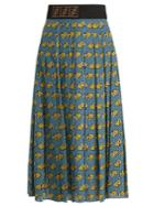 Fendi Open Your Heart Skirt