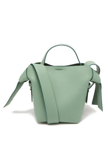 Acne Studios - Musubi Mini Leather Cross-body Bag - Womens - Green