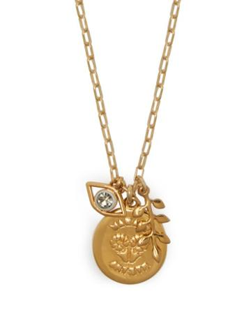 Matchesfashion.com Isabel Marant - Collier Multi Charm Chain Necklace - Womens - Gold