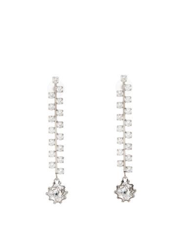 Colville Crystal-embellished Circular Drop Earrings