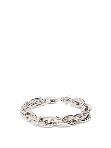 Matchesfashion.com Lauren Rubinski - Rope-chain 14kt White-gold Bracelet - Womens - White Gold