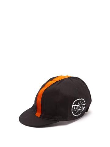 Matchesfashion.com Le Col - Cycling Cap - Mens - Black Orange