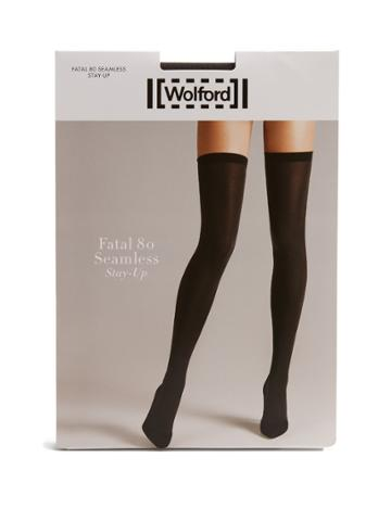 Wolford Fatal Stay-up Tights