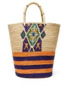 Matchesfashion.com Sensi Studio - Woven Straw Tote Bag - Womens - Beige Multi