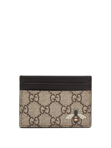 Gucci Bee-motif Cardholder