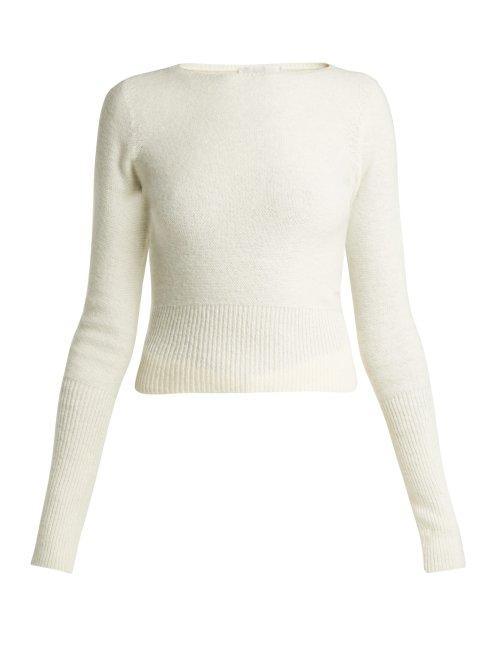 Matchesfashion.com Lemaire - Wool Sweater - Womens - Cream