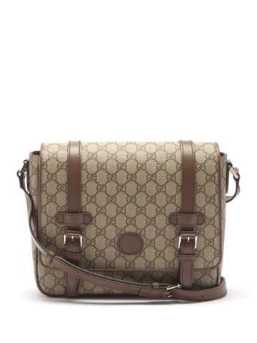 Gucci - Tess Gg Supreme Canvas Cross-body Bag - Mens - Beige Multi