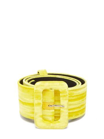 Attico Velvet Belt