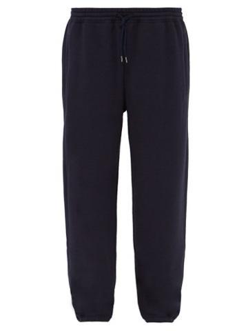 Matchesfashion.com Raey - Japanese Jersey Track Pants - Mens - Navy