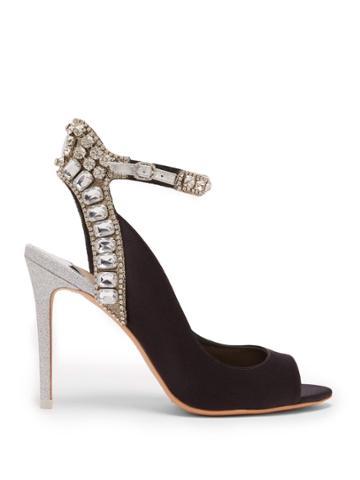 Sophia Webster Lorena Crystal-embellished Heels