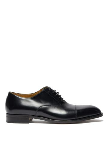 Matchesfashion.com Paul Smith - Kenning Leather Oxford Shoes - Mens - Black