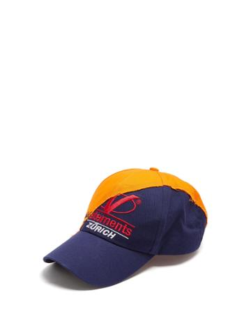 Vetements Zurich Deconstructed Cotton Cap