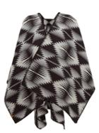 Matchesfashion.com Pendleton - Falcon Cove Wool-blend Cape - Womens - Grey Multi